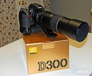 Nikon D300 12MP DX Professional DSLR Camera