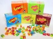 Жвачки LOVE IS в Светлогорск