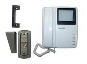 видеодомофон с антивандальной панелью вызова