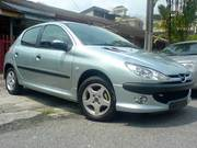 Peugeot 206,  2002 г.в.,  1, 1 л,  бензин
